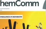 Les travaux de l'UMR CNRS 6521 font la couverture du Chem. Comm !