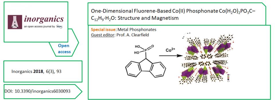 Nouvelle publication dans Inorganics