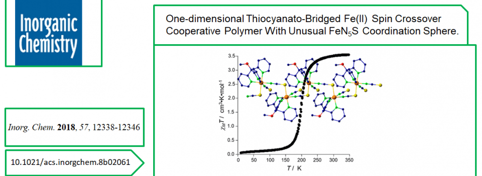 New publication in Inorg. Chem.