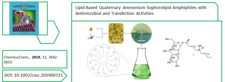 New publication in ChemSusChem